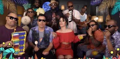VÍDEO: Camila Cabello y The Roots interpretan Havana con instrumentos de juguete en el programa de Jimmy Fallon (THE TONIGHT SHOW)