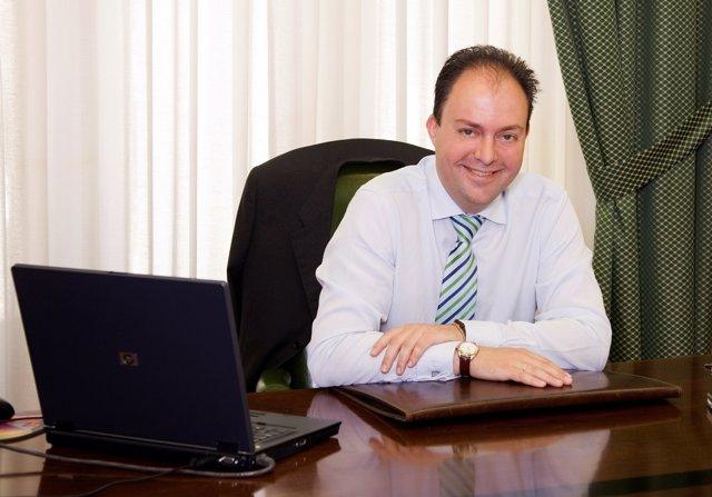 El Portavoz Del PSOE-Calatayud, Víctor Ruiz