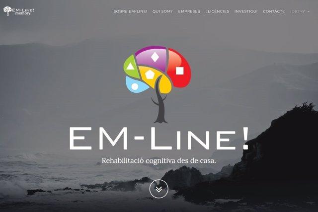 La plataforma online 'EM-Line! Memory'