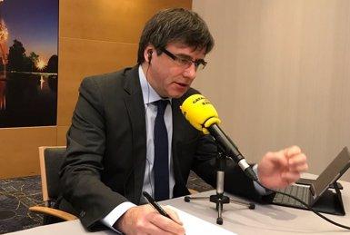 """Puigdemont defensa poder governar des de Brussel·les: """"No podria fer-ho des de la presó"""" (JUNTSXCAT)"""