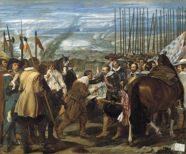 Rendición de Breda. Obra de Velázquez