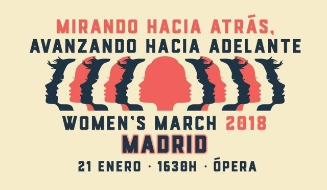 Women's March 2018 Madrid y Barcelona