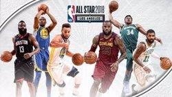 LeBron James i Stephen Curry lideren els equips de l'All-Star (NBA)