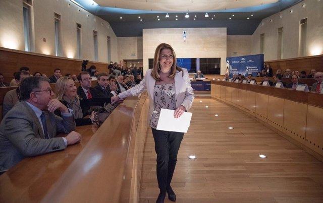 Susana Díaz en la entrega de Premios del Parque Científico Tecnológico Cartuja