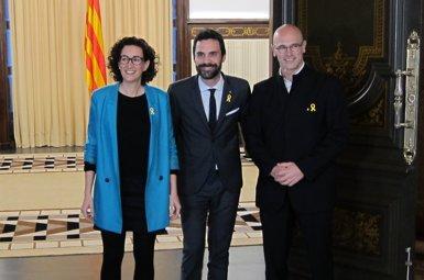 ERC reitera el seu suport a Puigdemont però no concreta si avala investir-lo a distància (EUROPA PRESS)