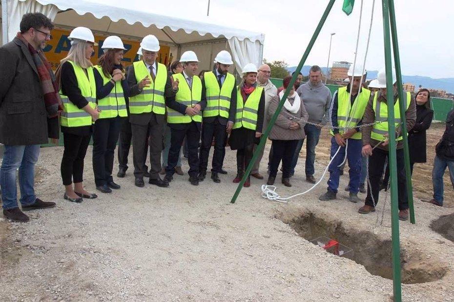 Foto: Arrancan las obras del instituto de Teatinos, que finalizan en 18 meses (JUNTA DE ANDALUCÍA )