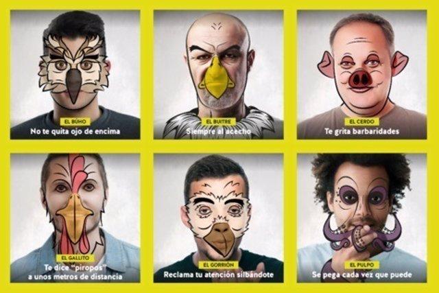 Campaña del IAM contra el acoso callejero