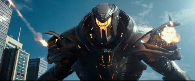 En la nueva cinta los Jaeger se enfrentarán entre ellos