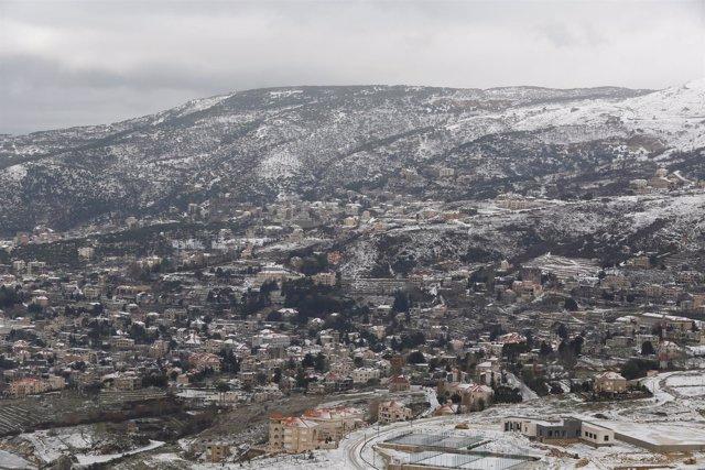 Nevada sobre Líbano