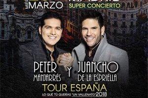 El colombiano Peter Manjarrés visita España con su gira 'Lo que tú querías'