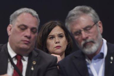 Mary Lou McDonald succeirà a Gerry Adams al capdavant del Sinn Fein (REUTERS / CLODAGH KILCOYNE)