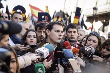 """Rivera demana al PP que """"entoni el 'mea culpa"""" per la corrupció i reclama un Govern net (CS)"""