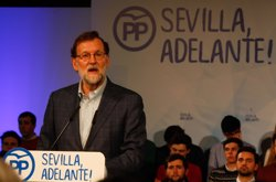 RAJOY: EL PSOE UTILIZA POLITICAMENTE LA FINANCIACION Y NO DA UN PASO PARA CONSTRUIR ALGO POSITIVO