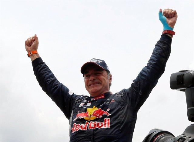 Carlos Sainz, campeón de coches del Dakar 2018