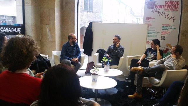 Encuentro con Jorge Drexler en Pontevedra