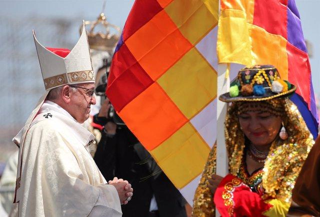 El Papa en su viaje a Chile