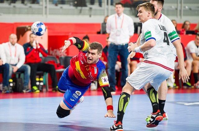 Julen Aginagalde Hispanos España selección española balonmano República Checa