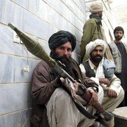 Talibanes de armas tomar