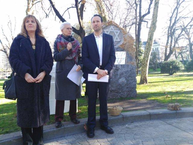 Conmemoración víctimas del Holocausto.