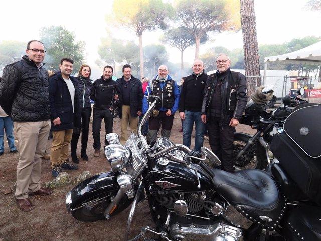 Valladolid.- El presidenete de la Diputación visita Motauros