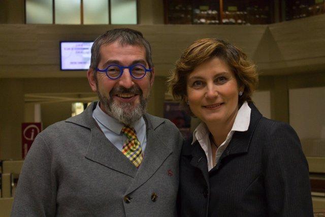 Pablo Martínez-Lage y María Javier Ramírez