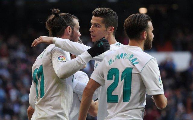 Real Madrid - Deportivo de La Coruña, Bale y Cristiano