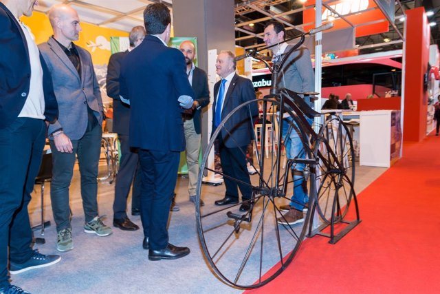 La provincia de Huesca comercializa paquetes de cicloturismo en Fitur.