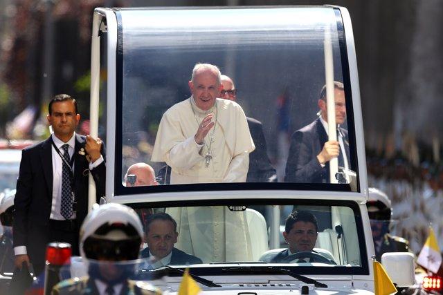 El Papa Francisco en Chile