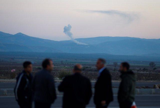 Bombardeos turcos sobre Afrin