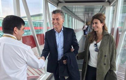 Mauricio Macri comienza su gira por Europa para participar en el Foro Económico Mundial