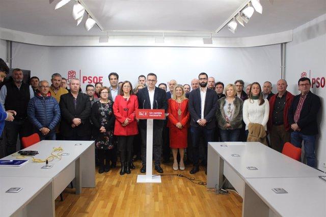 Rueda de prensa PSOE ante declaraciones Roque Ortiz