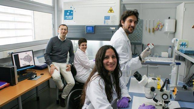 Investigadores implicados en el estudio