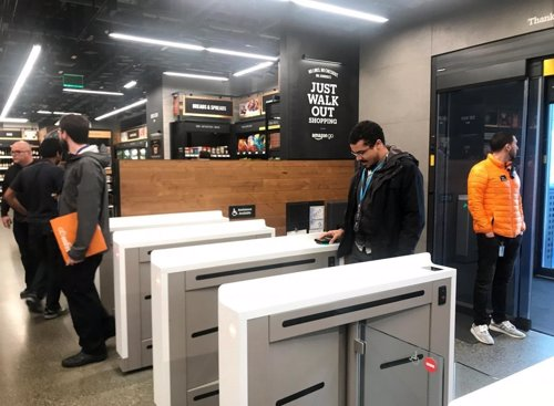 Tienda Amazon Go en Seattle