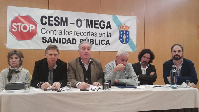 Rueda de prensa de CESm-O'Mega