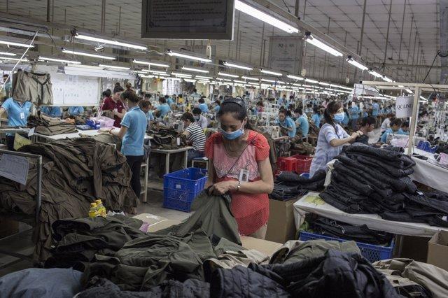 Fábrica textil en Vietman