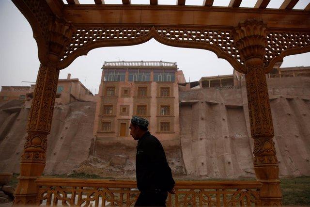 Ciudad de Kashgar, en la  región de Xinjiang