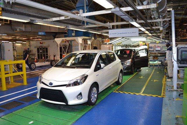 Planta de Toyota en Valenciennes (Francia)