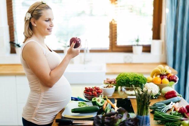 Embarazada, alimentación