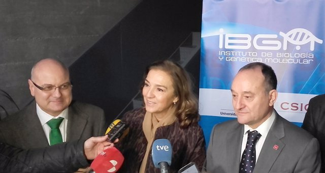 Carmen Vela visita el IBGM