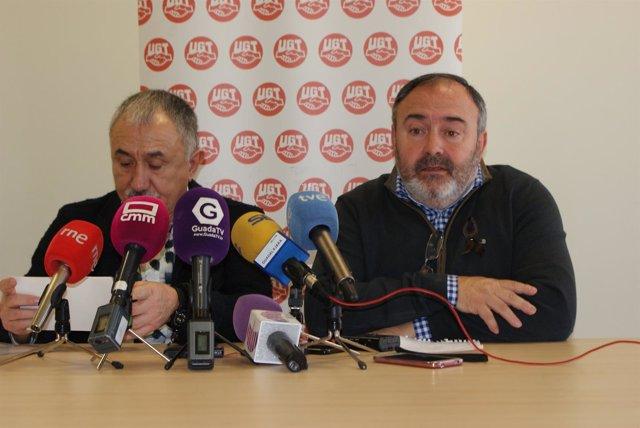 Alvarez y Pedrosa en rueda de prensa