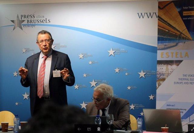 Luis Crespo, presidente de Protermosolar y Estela