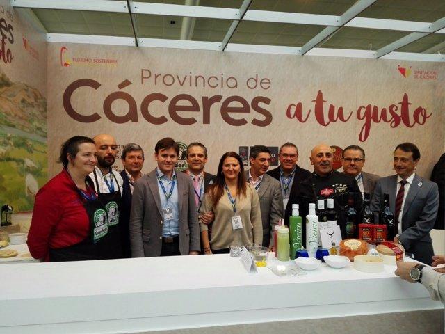 Los productos de Cáceres en Madrid Fusión