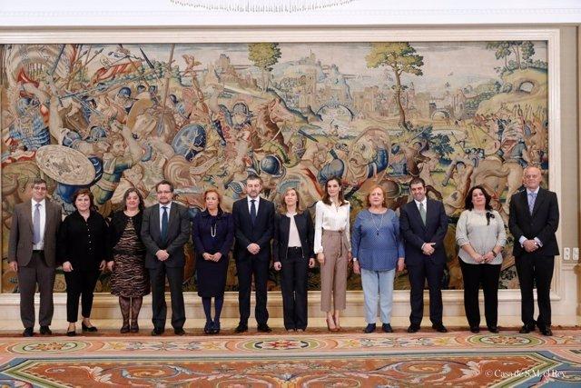 Reunión de la reina Letizia y el Foro Español de Pacientes