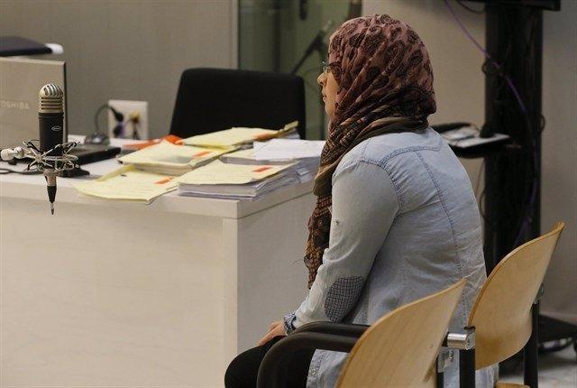 La condenada en el juicio en la Audiencia Nacional