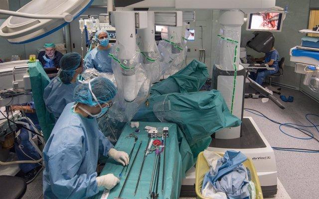 Trasplante en el Hospital Clínic