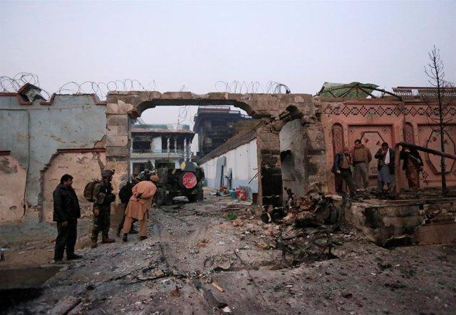 Ataque contra la sede de Save the Children en Jalalabad