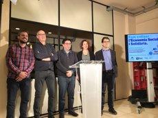 Barcelona crea un Fons de Crèdit Municipal per a projectes i empreses d'economia social i solidària (EUROPA PRESS)