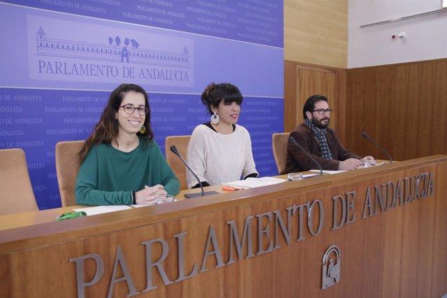 Espeja, Rodríguez y Moscoso en rueda de prensa