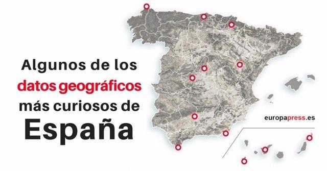 Datos geográficos más curiosos de España