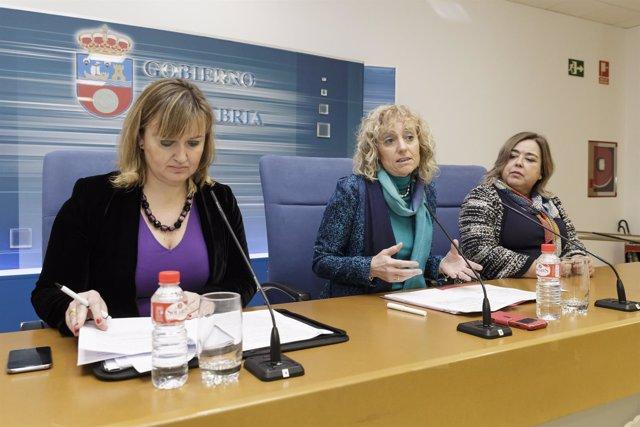La vicepresidenta presenta el plan de actuación de SODERCAN